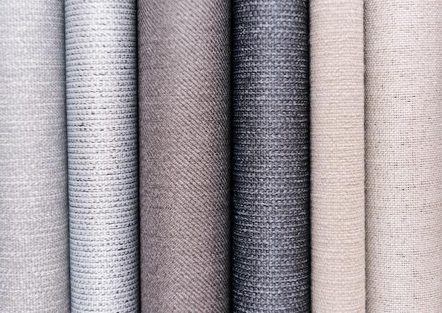 Fondo de capas con textura de tela