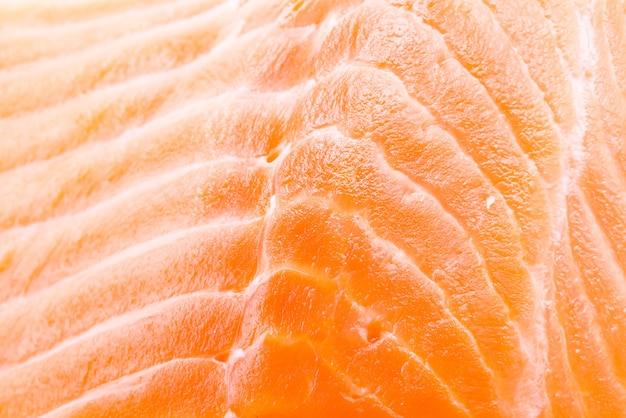 Fondo de carne de salmón