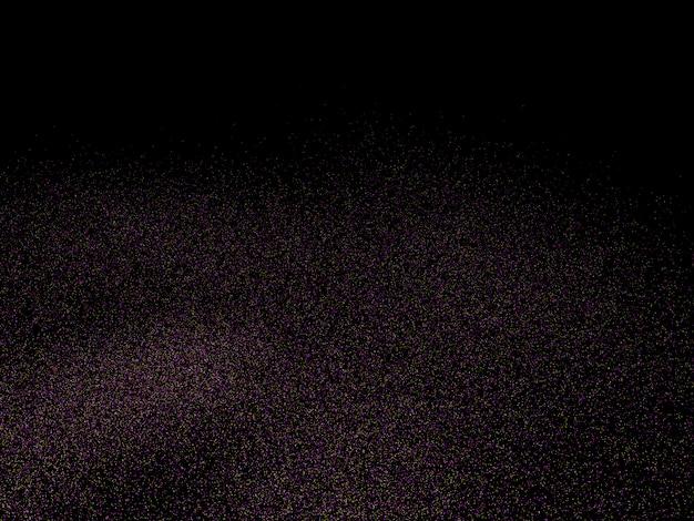 Fondo del cielo nocturno, representación 3d