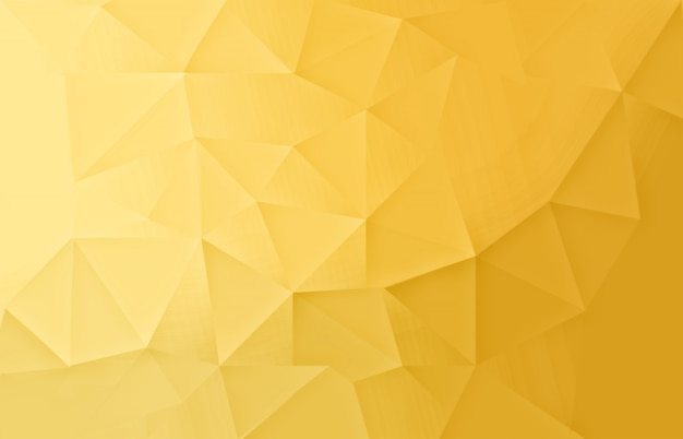 Fondo claro de oro abstracto low poly