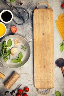 Fondo de cocina italiana