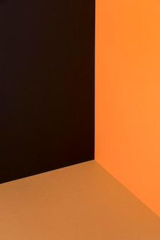 Fondo de colores otoñales de alto ángulo