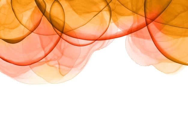 Fondo de colores con tinta de alcohol