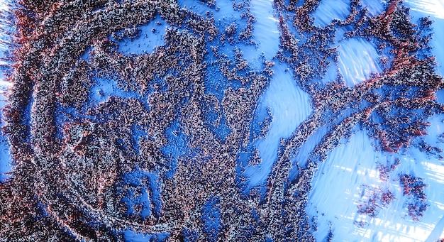 Fondo colorido abstracto. paisaje de naturaleza topográfica 3d.