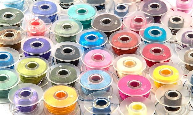 Fondo colorido de la bobina