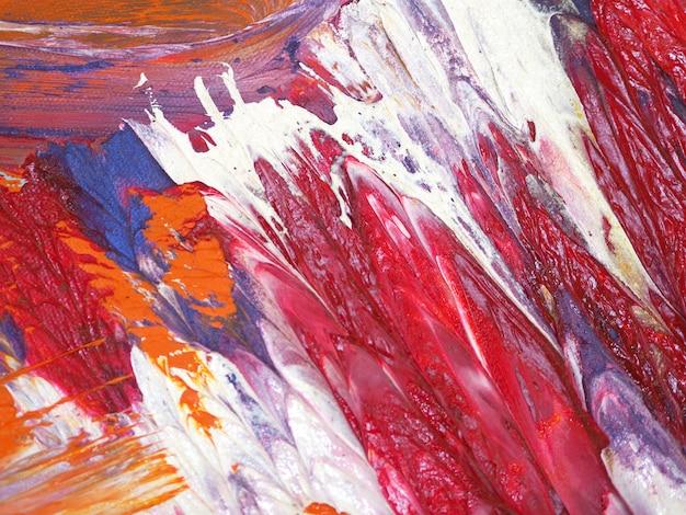 Fondo colorido del extracto de la pintura de aceite