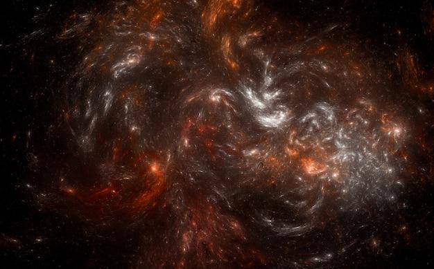 Fondo colorido patrón cósmico