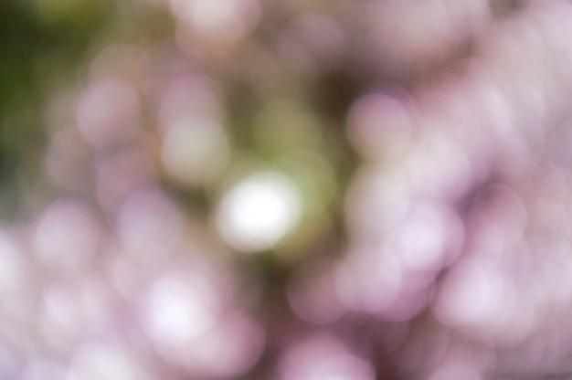 Fondo colorido con textura bokeh natural y luces brillantes desenfocadas