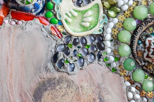Fondo colorido de la textura de la pared del vidrio y del azulejo