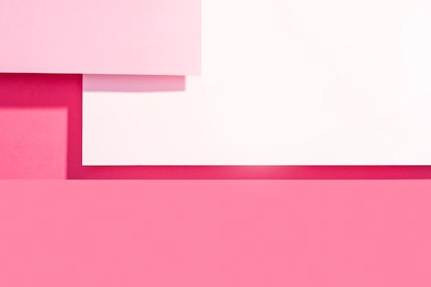 Fondo colorido vista superior