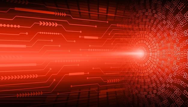 Fondo de concepto de tecnología futura de circuito cibernético