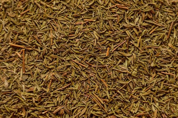 Fondo de condimento a base de hierbas - tomillo