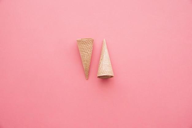 Fondo de cono de helado
