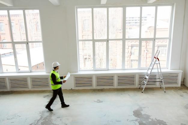 Fondo de construcción de edificios