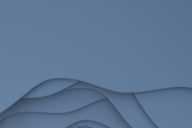 Fondo de corte de papel gris abstracto