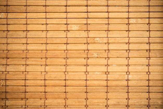Fondo de cortina de bambú