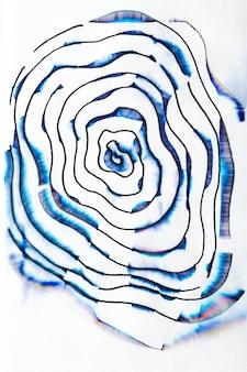 Fondo de cromatografía abstracta estética en monótono
