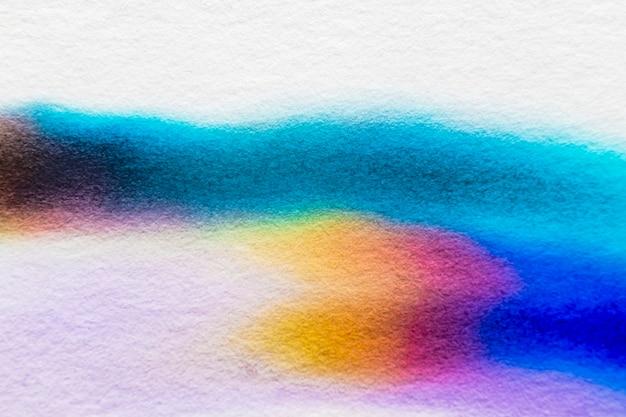 Fondo de cromatografía abstracta estética en tono azul