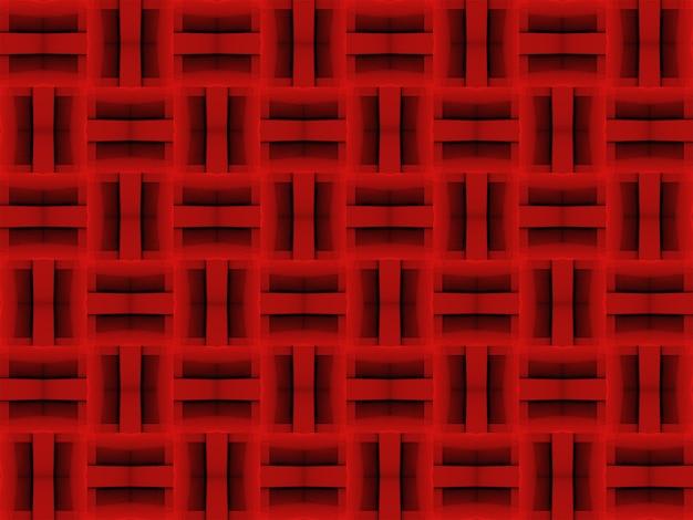 Fondo cuadrado rojo oscuro moderno.