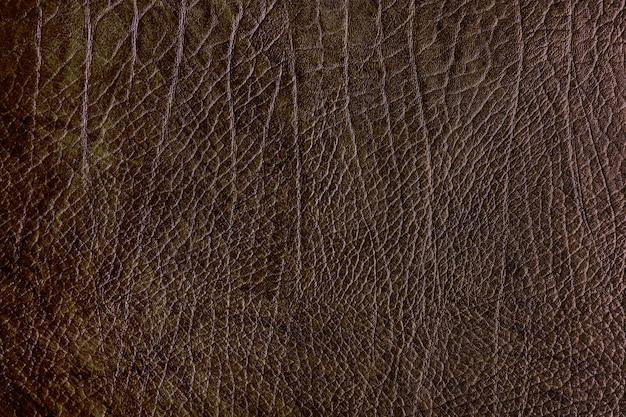 Fondo de cuero marrón
