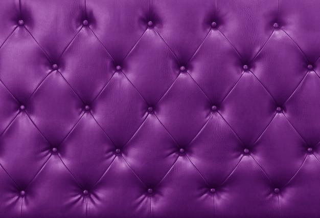 Fondo de cuero de sofá púrpura