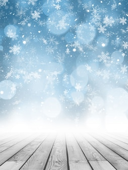 Fondo de fotografía de navidad