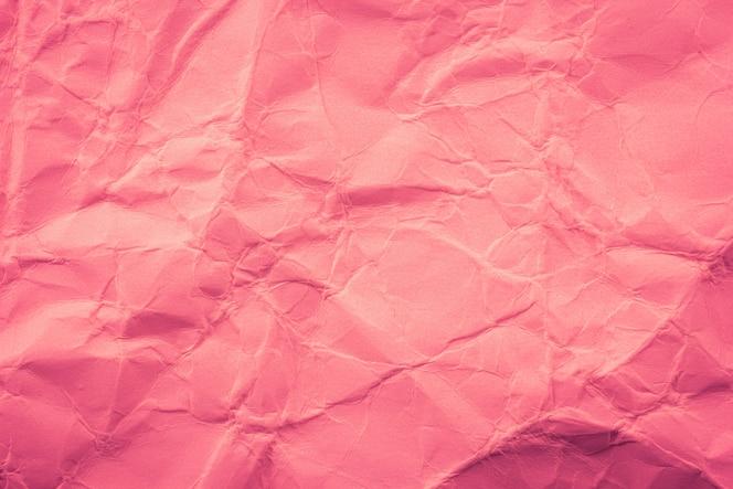 Fondo de papel arrugado rosa
