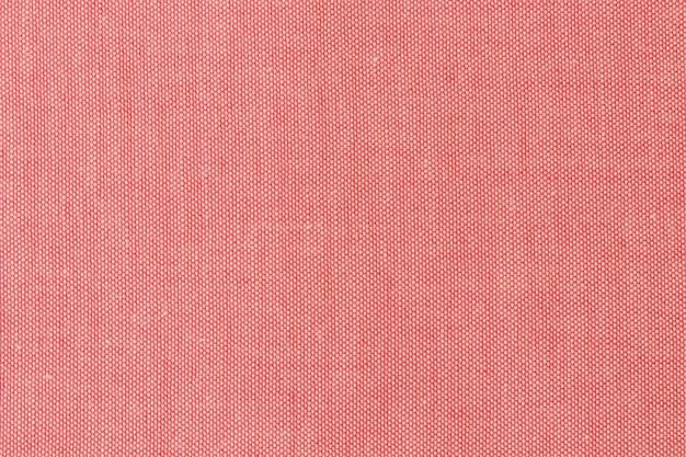 Fondo de textura de tela roja