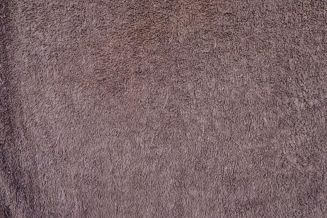 Fondo de textura de toalla marrón.