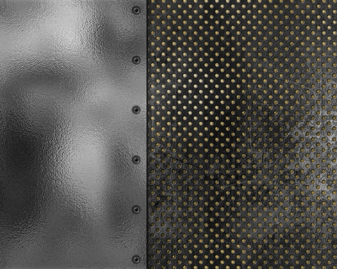 Fondo de textura metálica de estilo grunge