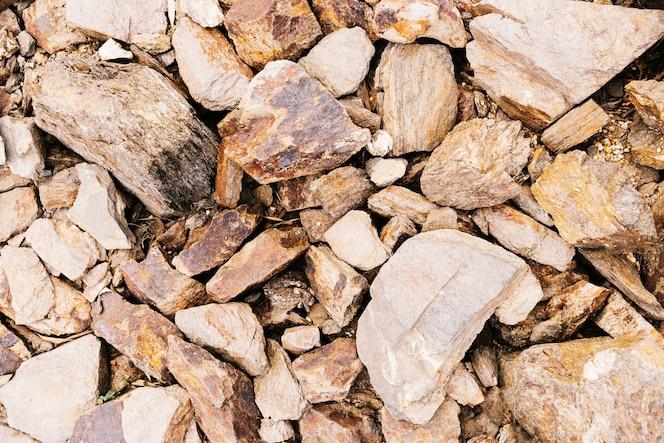 Fondo de una roca desgastada