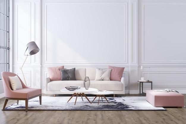 Fondo decorativo para hogar, oficina y hotel. diseño interior moderno