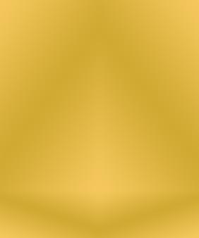 Fondo degradado amarillo oro de lujo abstracto