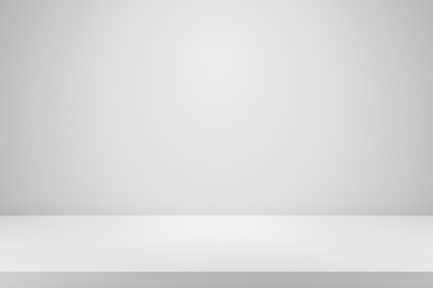 Fondo degradado blanco en blanco con pantalla de producto.