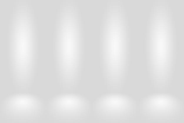Fondo degradado gris blanco oscuro vacío abstracto.