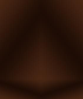 Fondo degradado marrón liso abstracto