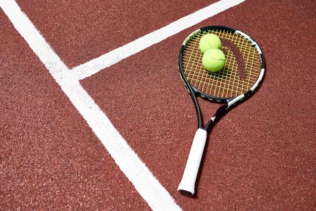 Fondo de deporte de tenis