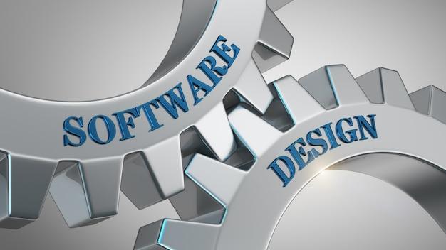 Fondo de desymbol de software