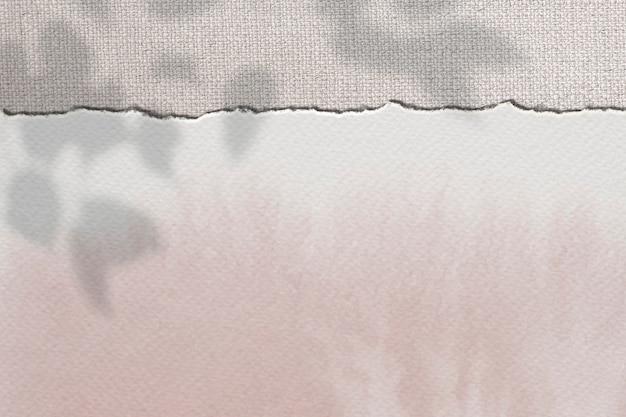 Fondo de diseño de maqueta de papel