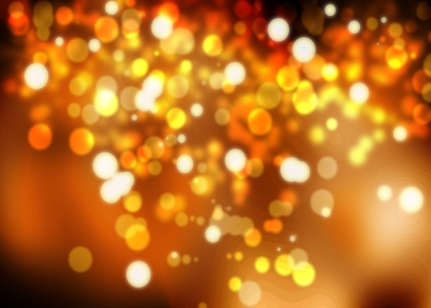 Fondo dorado festivo de navidad