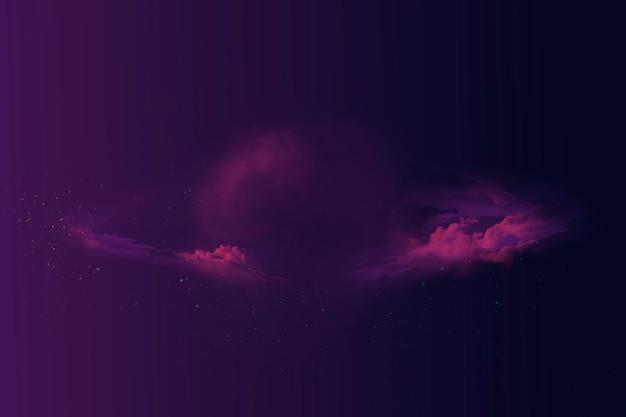 Fondo de espacio de nebulosa abstracta colorida