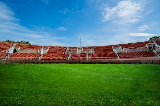 Fondo del estadio de fútbol