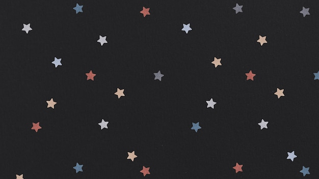 Fondo estampado estrella colorida brillante