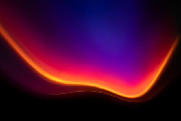 Fondo estético con efecto de luz led neón degradado.