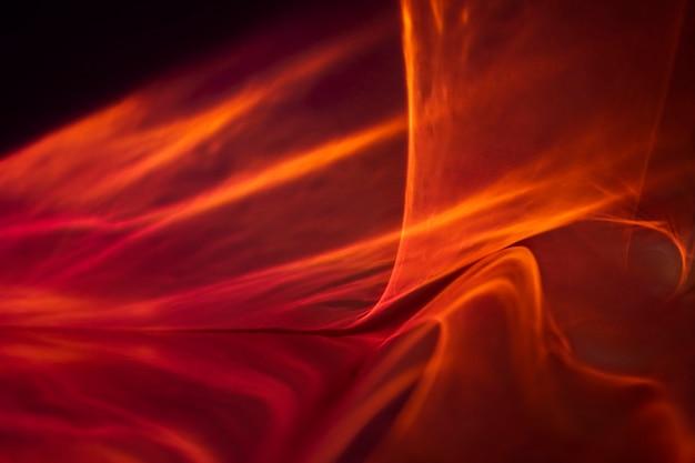Fondo estético con lámpara de proyector de puesta de sol abstracta
