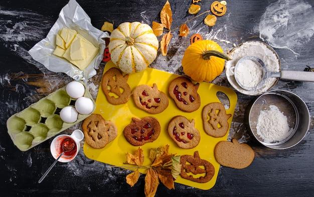 Fondo en el estilo de la fiesta de halloween.