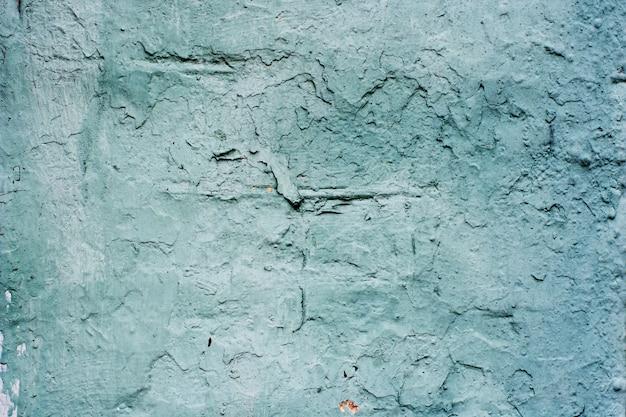 Fondo de un estuco azul recubierto y pintado exterior