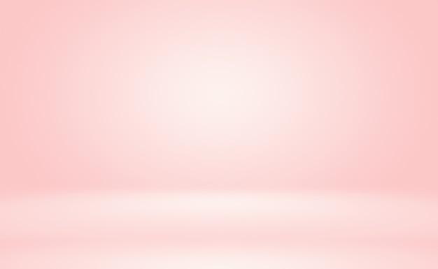 Fondo de estudio de concepto abstracto vacío luz degradado púrpura fondo de sala de estudio para producto p ...