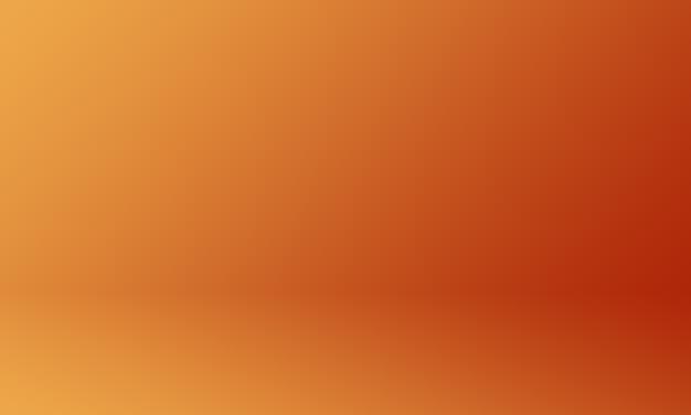 Fondo de estudio degradado naranja oscuro Foto Premium