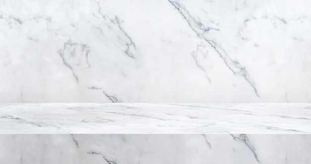 Fondo de estudio de mesa de mármol de lujo 3d texturado para exhibición de productos